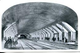 N°1921 R -cpsm Le Metro à Londres - Métro