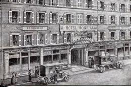 N°1924 R -cpa Paris (9°) Hôtel Mondial, Cité Bergère- - Hotels & Gaststätten