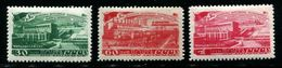Russia 1948  MI 1272-1274  MNH ** VF - Ungebraucht