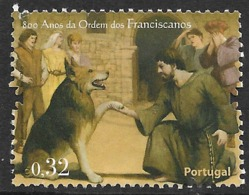 Portugal – 2009 Order Of Franciscans Used Stamp - Oblitérés