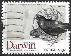 Portugal – 2009 Darwin 0,32 Used Stamp - Oblitérés