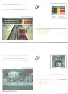 BELGIUM - 1998  - METRO HAL ANNEESSENS - COB BK 66 - BK 67 -  Lot 21740 - Stamped Stationery