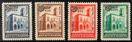 0,25 L. A. 1,25 L. Bis 1,25 L. A. 20 C. Philatelistische Ausstellung Während Der Mailänder Mustermesse 1934, Tadellos Un - Saint-Marin