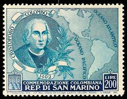 200 L. Columbus, Tadellos Postfrisch, Mi. 90.-, Katalog: 475 ** - Saint-Marin