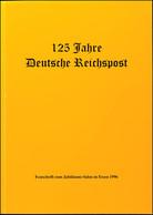 125 Jahre Deutsche Reichspost, Festschrift Zum Jubiläums-Salon In Essen, 1996, Gebrauchte Erhaltung - Stamps