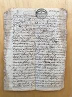 SÉLECTION DE 20 MANUSCRITS  INTÉRESSANTS : CONTRAT MARIAGE 1766 - BAIL ENRAYEMENT - INVENTAIRE PRODUCTION  - RÉPUDIATION - Manuscritos