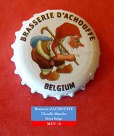 Brasserie D'Achouffe - La Chouffe Blanche (parfait état - Pas De Trace De Décapsuleur) MEV10 - Bière