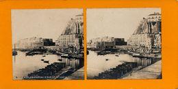 Stereo, Naples, Chateau D'Ovo, St. Lucia, S.I.P. - Visionneuses Stéréoscopiques