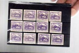Hradcany  :  400 H Violet  12 Ex* TTB - Neufs