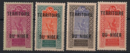 Niger - 1925-26 - N°Yv. 25 à 28 - Série Complète - Neuf Luxe ** / MNH / Postfrisch - Unused Stamps