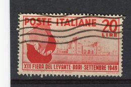 ITALIE - Y&T N° 548° - Foire Du Levant - 1946-.. République