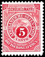 "5 Cent Seenpost Original Tadellos Postfrisch, Fotobefund Dr. Hartung: ""postfrisch, Einwandfrei"", Mi. 150.-, Katalog: Sa  - Colony: German East Africa"