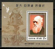 Korea North 1999 Corea / Charles Darwin MNH / Cu17121  29-27 - Non Classificati