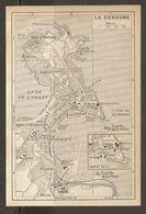 CARTE PLAN MAPA MAP 1935 LA COROGNE - ESPAGNE ESPANA SPAIN - Topographische Karten