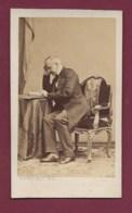 040720B - PHOTO CDV DISDERI - Ferdinand De LESSEPS Entrepreneur Canal De Suez - Antiche (ante 1900)