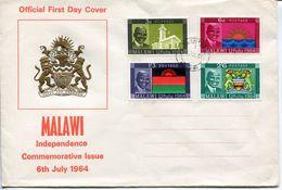 Malawi Mi# 15-8 Used On FDC - Independence - Malawi (1964-...)