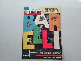 TINTIN N° 800  ROLAND GARROS (4p) + VICOMTE DE LAMASE LE CHAMOINE DE PERIGUEUX (4p) + LES BEATLES (2p) COVER BOB DE MOOR - Tintin