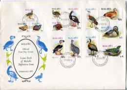 Malawi Mi# 229-41X Used On FDC - Fauna Birds - Malawi (1964-...)