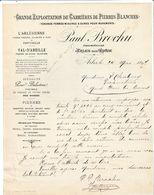 Arles Sur Rhône - Paul Brochu - Carrières De Pierres Blanches - L'Arlésienne De Fontvieille 1897 - 1800 – 1899