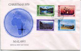 Malawi Mi# 336-9 Used On FDC - Landscapes - Malawi (1964-...)