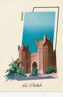 Carte Postale. Maroc. Rabat. Casbah Du Chellah.  Etat Moyen. - Monumentos