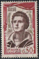 France 1961 Yv. N°1305 - Gérard Philipe, Le Cid - Oblitéré - Oblitérés