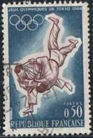France 1964 Yv. N°1428 - JO De Tokyo - Oblitéré - Oblitérés