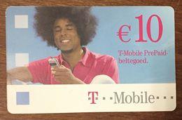 T MOBILE HOMME 10 EURO PAYS BAS NEDERLAND EXP LE 01/05/2008 RECHERGE GSM PRÉPAYÉE PREPAID PHONECARD - Pays-Bas