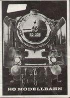Catalogue LILIPUT 1961  Folder B/W Ausgabe Spur HO Modellbahnen - Libros Y Revistas