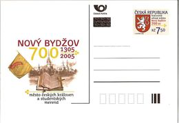 CDV 98 Czech Republic Novy Bydzov Town Anniversary 2005 Heraldic Lion Neu Bidschow - Armoiries