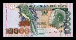 Santo Tome Y Principe Saint Thomas & Prince 10000 Dobras 2004 Pick 66c SC UNC - São Tomé U. Príncipe