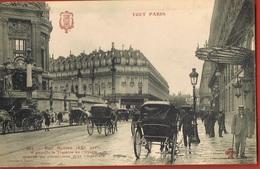 TOUT PARIS- (IX°) RUE SCRIBE -animée- Scans Recto Verso - Paris (09)