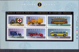 CANADA - MNH - CARS - MI.NO.BL 12 - CV = 11 € - Blocks & Sheetlets