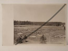 Photo Vintage. Original. Construction D'une Tour Géodésique. Lettonie - Objets