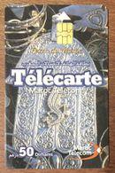 MAROC TELECOM TERRE DU MAROC TÉLÉCARTE 50 DIRHAMS PUCE N°1 PHONECARD CARD - Maroc