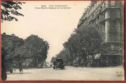 TOUT PARIS- (XX°) Place  Martin Nadaud Et Rue Sarbier- Animée Camion- - Scans Recto Verso - Paris (20)