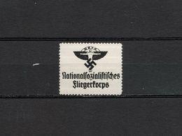 Deutsches Reich Nazi Swastika N.S.F.K. Poster Revenue Cinderella Vignette Propaganda Postfrisch - Cinderellas