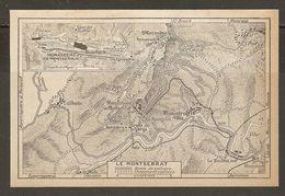 CARTE PLAN MAPA MAP 1935 LE MONTSERRAT - ESPAGNE ESPANA SPAIN - Topographische Karten