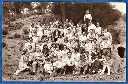RARE CARTE PHOTO ESPAGNE - BARCELONA - Esperantista Societa Nova Sento - 17 Mai 1931 - José Banet - Esperanto - Barcelona