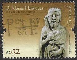 Portugal – 2009 D. Afonso Henriques 0,32 Used Stamp - Oblitérés