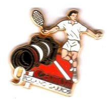 Pin'sCanon Roland Garros 91   Zamac Arthus Bertrad - Arthus Bertrand