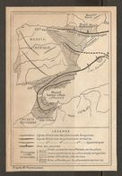 CARTE PLAN MAPA MAP 1935 MESETA IBÉRIQUE MASSIF BÉTICO RIFAIN DÉPRESSION BÉTIQUE - ESPAGNE ESPANA SPAIN - Topographische Karten
