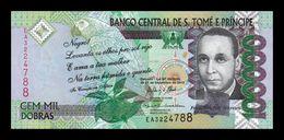 Santo Tome Y Principe St. Thomas & Prince 100000 Dobras 2013 Pick 69c SC UNC - Sao Tomé Et Principe