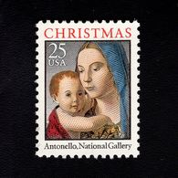1035782161 SCOTT 2514 POSTFRIS MINT NEVER HINGED EINWANDFREI -  MADONNA & CHILD BY ANTONELLO - United States