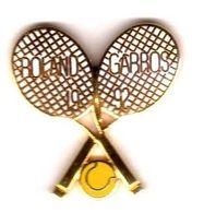 Pin's Raquettes  Roland Garros 1992  EGF - Tennis