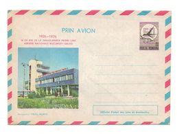 Enveloppe Prin Avion 1926-1976 Posta Romana 50 De Ani De La Inaugurarea Primei Linii Aerien Nationale Bucuresti-Galati - Andere Verzamelingen