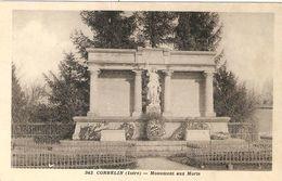CORBELIN  .  MONUMENT AUX MORTS . - Corbelin