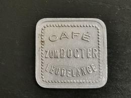 Luxembourg Jeton, Café Zum Doctor. Leudelange - Jetons & Médailles