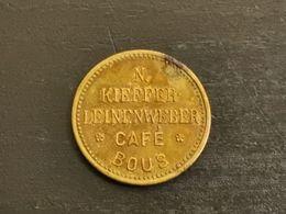 Luxembourg Jeton, Kieffer Leinenweber. Bous - Jetons & Médailles