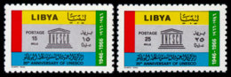 Libya, 1967, UNESCO, 20th Anniversary, United Nations, MNH, Michel 228-229 - Libye